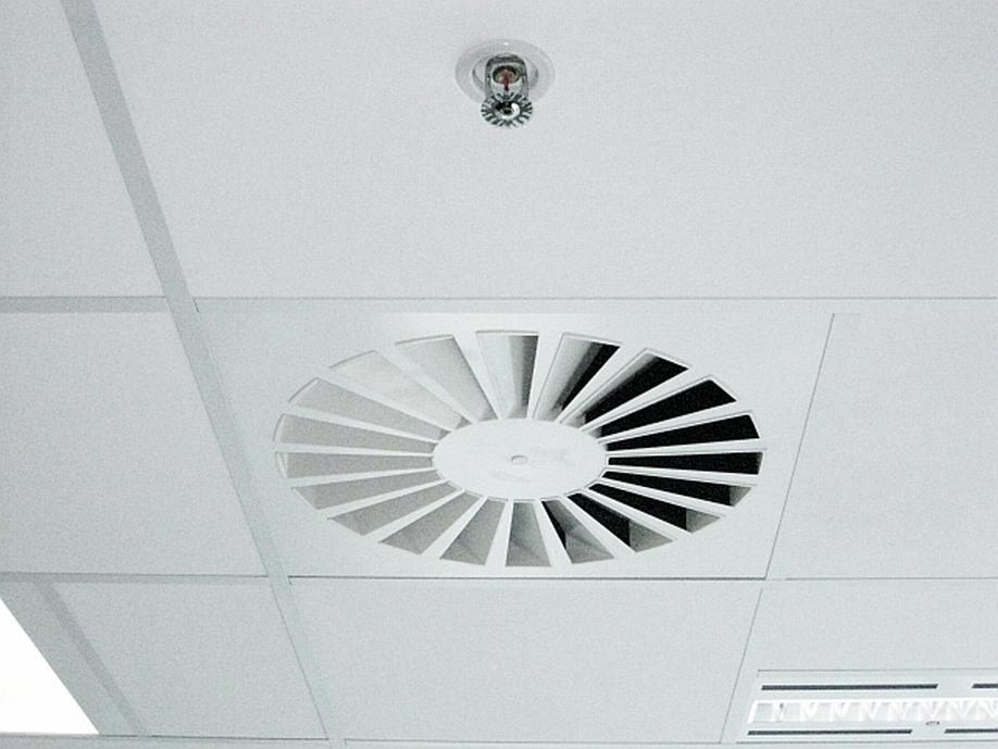 Radial Blade Swirl Diffusers Holyoake Air Management