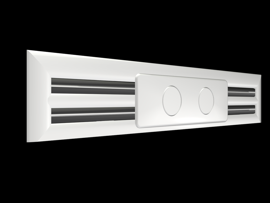 Linear Diffuser With Damper : Radius ceiling slot diffuser holyoake air management