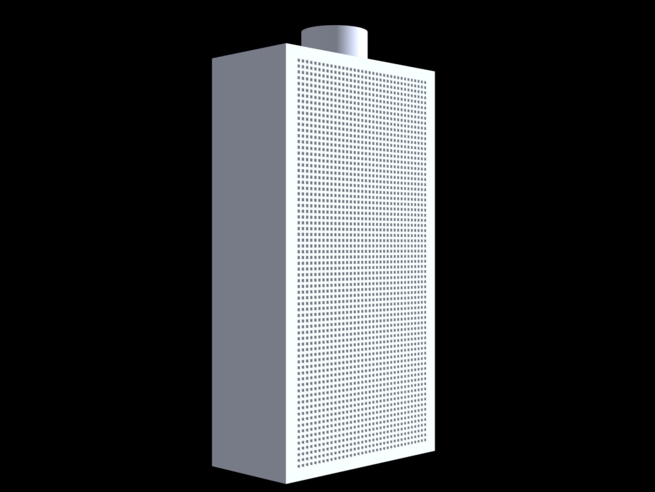 Square Wall Mounted Displacement Diffusers Holyoake Air
