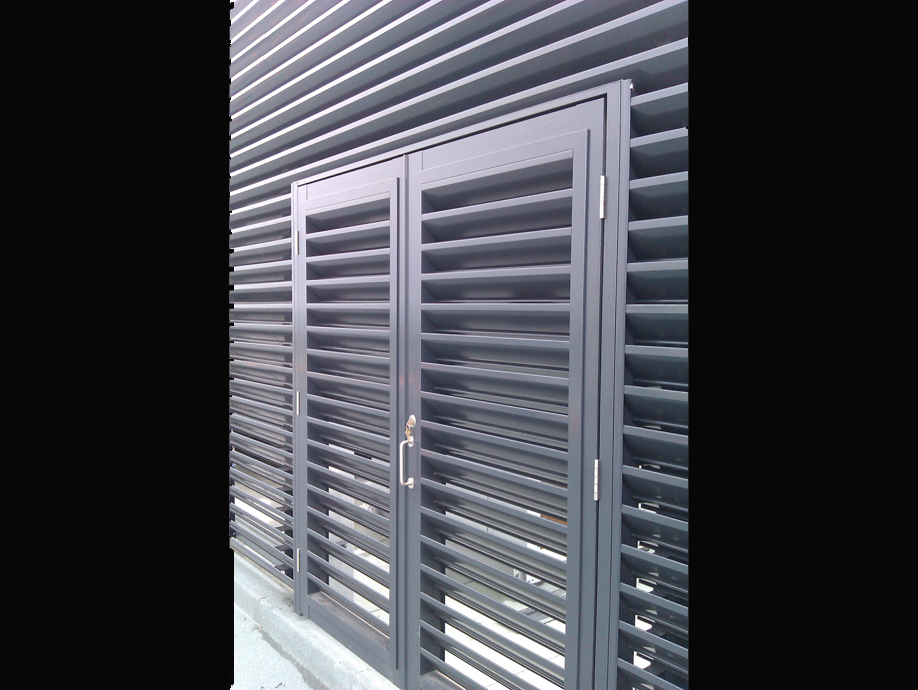 OHL-Door Louvred Doors & Louvred Doors - Holyoake Air Management Solutions