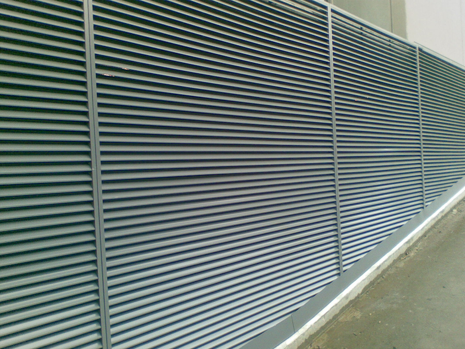 45mm Horizontal Curved Profile Louvre Holyoake Air