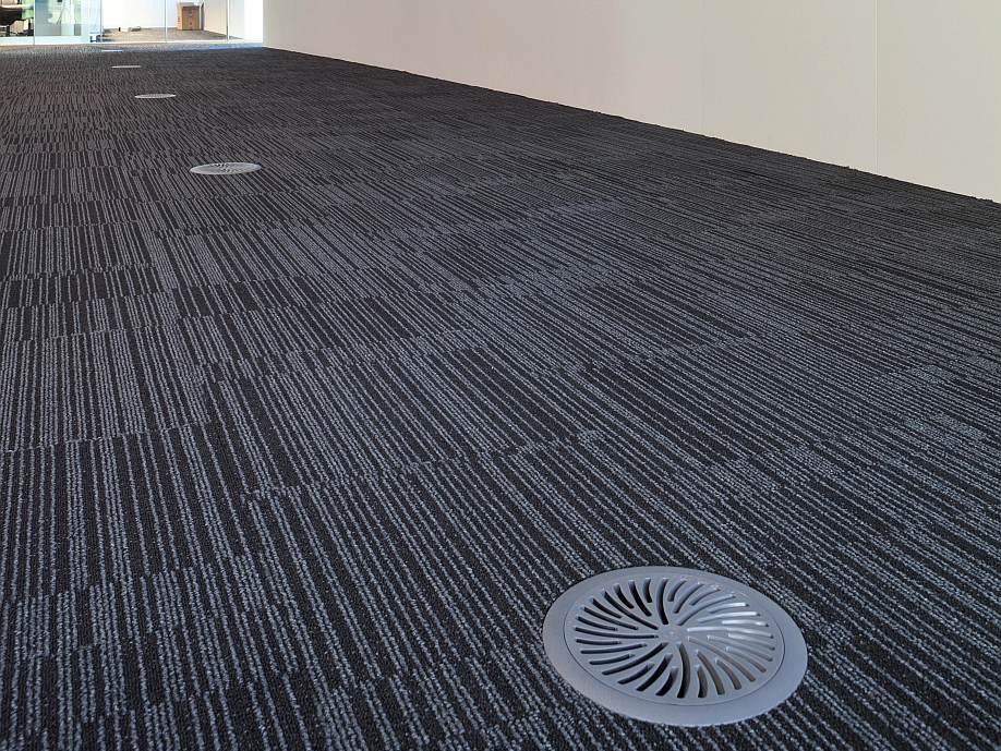 Polymer Floor Swirl Diffuser Holyoake Air Management