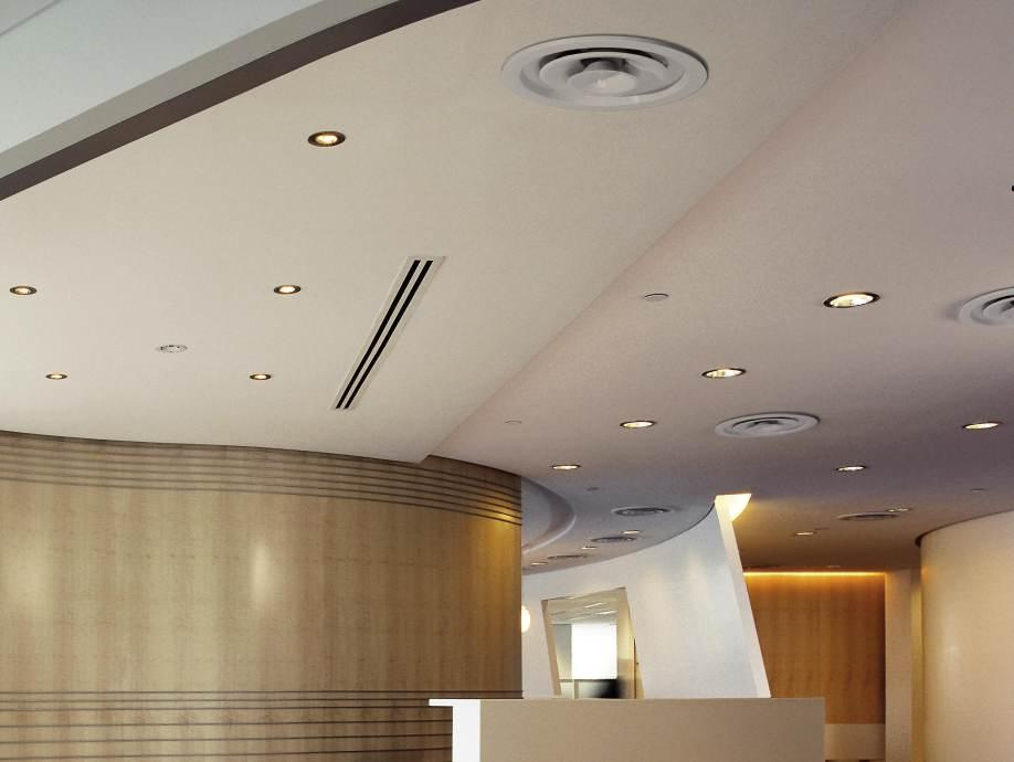 Circular Louvred Diffuser Holyoake Air Management Solutions