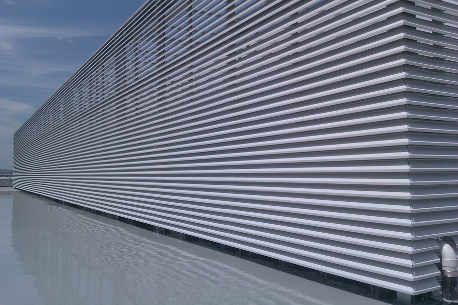 Curved Profile Closable Louvre Holyoake Air Management