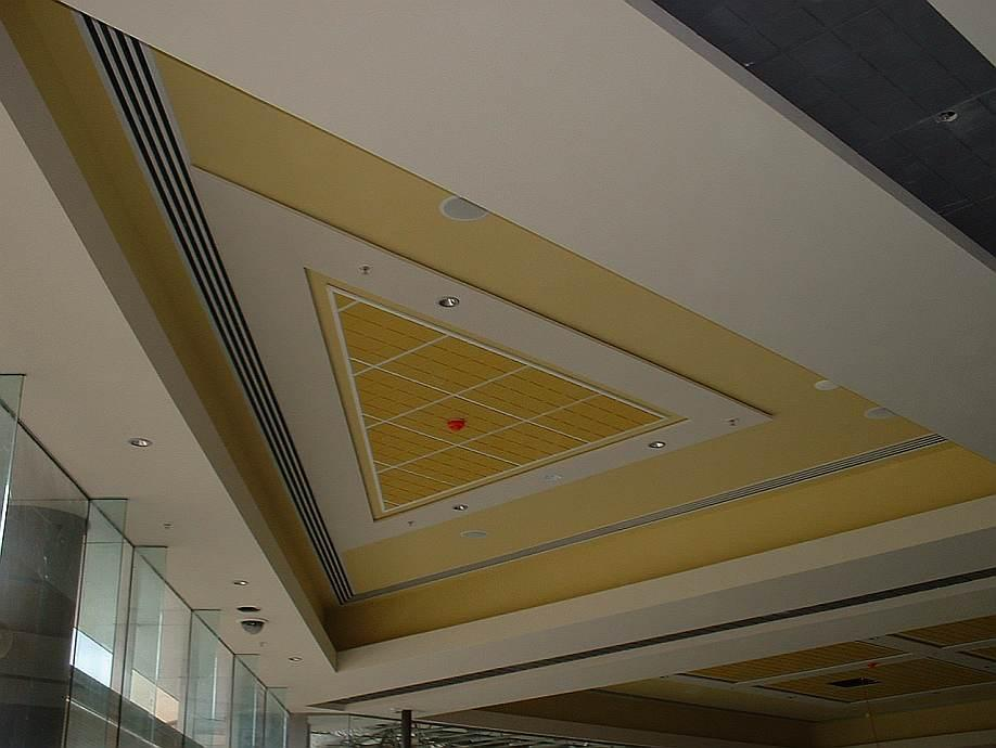 Thermally Operated Ceiling Slot Diffuser Holyoake Air