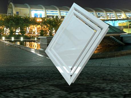 Linear Directional Ceiling Diffusers